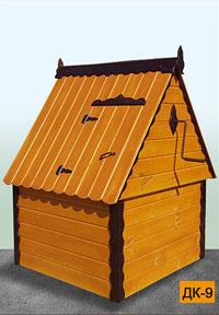 колодезный домик дк-9 в Можайске