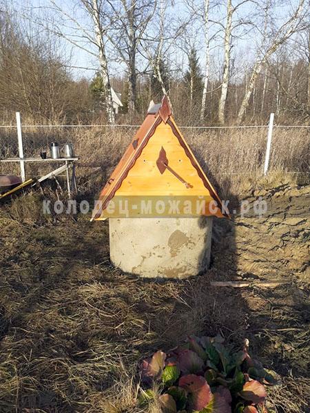 копка колодцев в Борисово